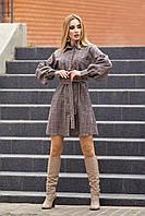 Стильное платье 42-48, фото 1
