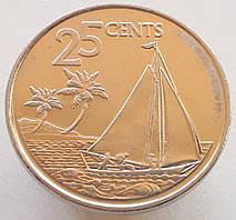 Багамы 25 центов 2015