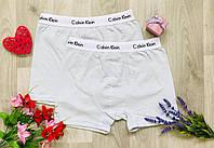 Мужски трусы - боксёры хлопок Calvin Klein Турция размер XL(50-52) бирюза