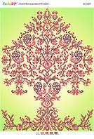 """А3 """"Дерево життя з фоном (част. виш.)"""". Схема для частичной вышивки бисером"""
