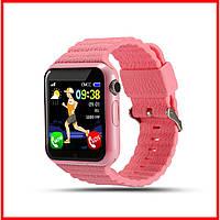 Смарт-часы часы BABYGPS V7K Original Розовые (BABYGPSV7KBL Pink)