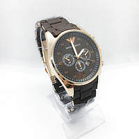Женские наручные часы Emporio Armani (Эмпорио Армани), коричневые ( код: IBW256K )