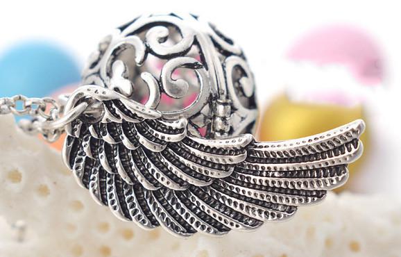 Аромакулон круглый с крыльями для аромамасел и любимых духов