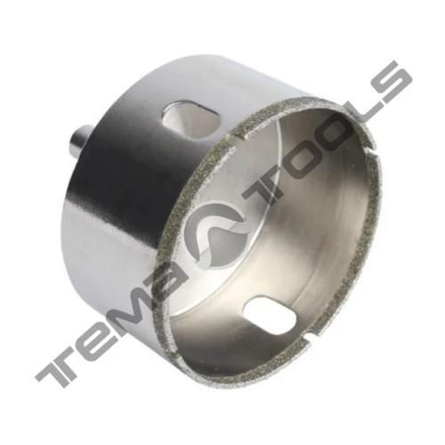 Свердло трубчасте з алмазним напиленням по склу і плитці 6 мм Granite 2 шт