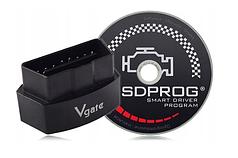 Диагностический сканер  Vgate iCar3 BT + SDPROG
