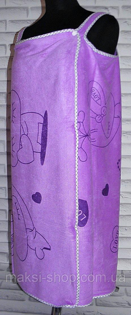 Полотенце для сауны платье 135х80  (S113)