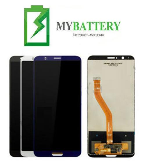 Дисплей (LCD) Huawei Honor V10 с сенсором черный