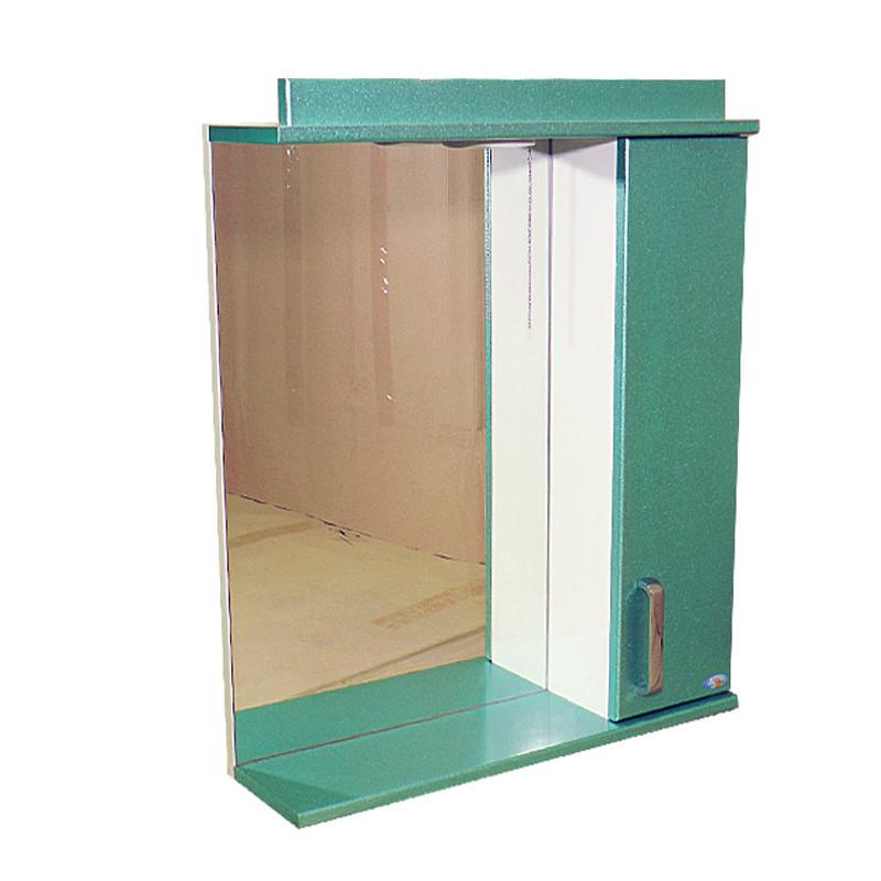 """Зеркало для ванной комнаты с подсветкой и шкафчиком """"Колибри"""" 60iz"""