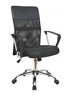 Кресло офисное Оливия, черное