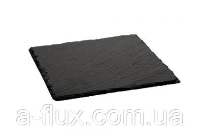 Поднос (сланец) из натурального камня 20*20см Stalgast 399101