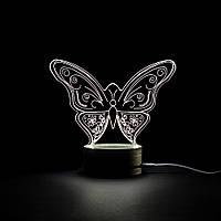 Бабочка: Оптический обман, превращающий 2D светильник в 3D