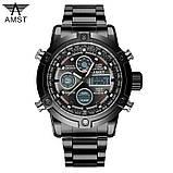 Мужские часы AMST с металлическим ремешком армейские АМСТ, фото 4