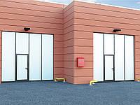 Промышленные складные ворота DoorHan IFG без нижней направляющей, фото 1
