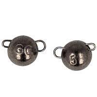 """Груз-головка """"Чебурашка"""" GC разборная вольфрам 5г (3шт в упаковке) Black Nickel"""