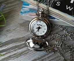 Часы Кулон Стальной Алхимик Fullmetal Alchemist маленькие, фото 2