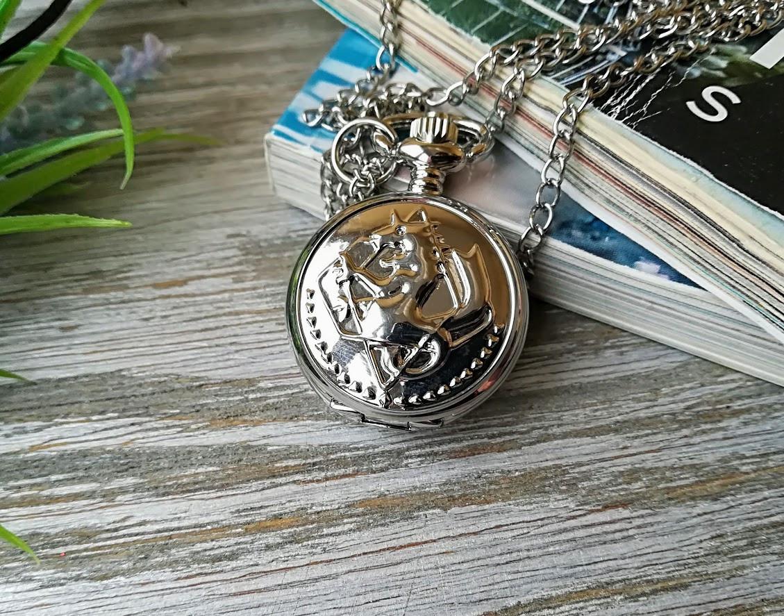 Часы Кулон Стальной Алхимик Fullmetal Alchemist маленькие