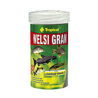 "Быстро тонущий корм для аквариумных рыб ""Welsi Gran"" (гранулы-250ml /162g) Tropical™"