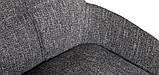 Стілець барний OLIVA темно-сірий рогожка (безкоштовна доставка), фото 6