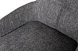 Стілець барний OLIVA темно-сірий рогожка (безкоштовна доставка), фото 4