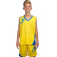 Форма баскетбольная подростковая Pace, желтый (LD-8081T-2)