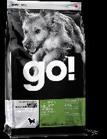GO! Natural LID Turkey Dog Recipe 2,72кг-Сухой корм для щенков и взрослых собак(беззерновой с Индейкой)