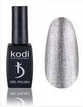 Гель-лак Kodi BASIC COLLECTION серия SHINE №60 SH 8 мл — серебро, эмаль, фото 2