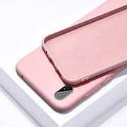 Силиконовый чехол SLIM на Samsung A20 Nude