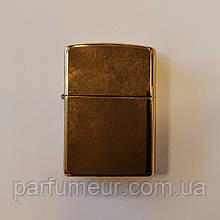 Запальничка Zippo Classic Brushed Brass