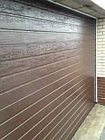 Alutech (Алютех) серия Trend секционные гаражные ворота  ш3500, в2200, фото 3