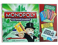 Настольная игра Монополия с терминалом и банковскими карточками