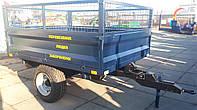 Прицеп тракторный 1ПТС-2.8 с надставными бортами (сетка), фото 1