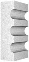 Архитектурный фасадный декор из пенопласта. Молдинг М-1.