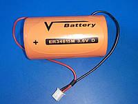 Элемент питания, батарейка литиевая D 13Ah, 3.6V ER34615M