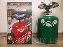 Газовый комплект Golden Lion VIP RUDYY Rk-3 (8л)