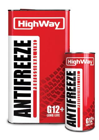 HighWay Антифриз-40 (красный) 1кг G12 + (охлаждающая жидкость)