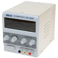 Лабораторный блок питания EXtools PS-1502D, 15B, 2A