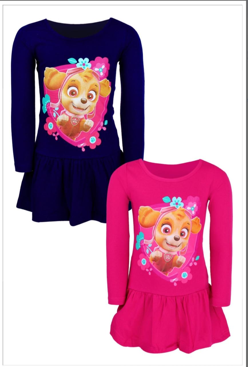 Платье для девочек оптом Disney, размеры 98-128, арт. 640-057