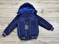 Демисезонная куртка на синтепоне ( Утеплитель- мех). 4 года.