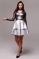 """""""Марсель"""" платье (серебро), фото 1"""
