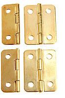 Петля завис 25х19 мм колір золото