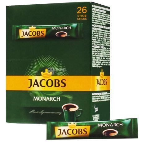 Кофе растворимый Jacobs Monarch в стикерах