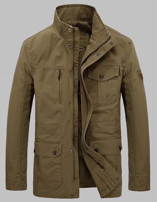Jeeplion original 100% бавовна Чоловіча куртка в стилі мілітарі джип