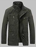 Jeeplion original 100% бавовна Чоловіча куртка в стилі мілітарі джип, фото 3