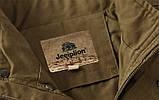 Jeeplion original 100% бавовна Чоловіча куртка в стилі мілітарі джип, фото 6