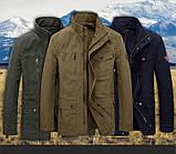 Jeeplion original 100% бавовна Чоловіча куртка в стилі мілітарі джип, фото 10