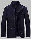 Jeeiplion original 100% бавовна Чоловіча куртка в стилі мілітарі джип, фото 2