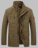 Jeeiplion original 100% бавовна Чоловіча куртка в стилі мілітарі джип, фото 3