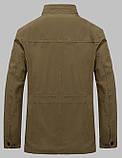 Jeeiplion original 100% бавовна Чоловіча куртка в стилі мілітарі джип, фото 4