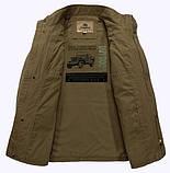 Jeeiplion original 100% бавовна Чоловіча куртка в стилі мілітарі джип, фото 5