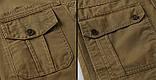 Jeeiplion original 100% бавовна Чоловіча куртка в стилі мілітарі джип, фото 8